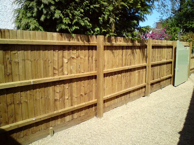 Timber Closeboard Fencing