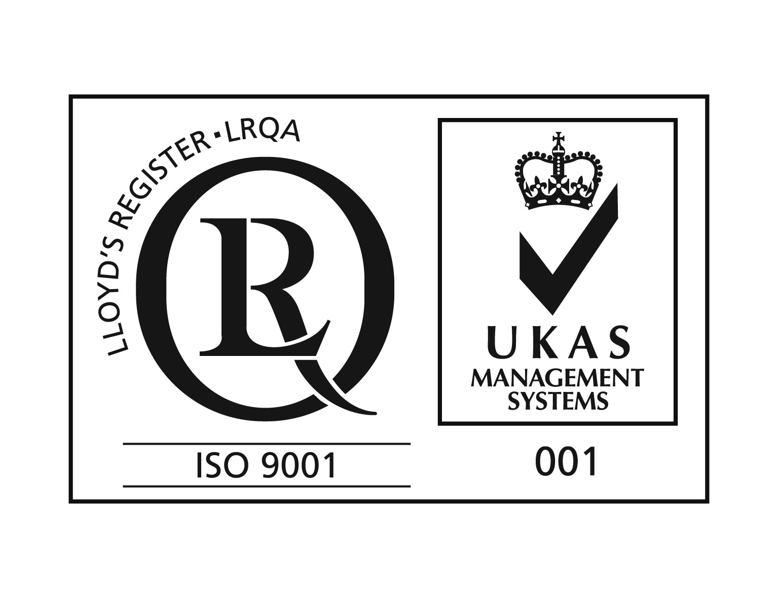 New ISO9001 and UKAS