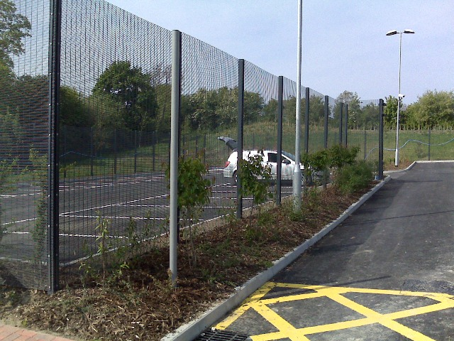 Mesh Panel Fencing Northampton