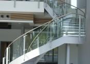 Audi Coulsdon Glass Stair Balustrade